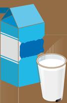 牛乳パックの上に切れてる部分があるのはなぜ?